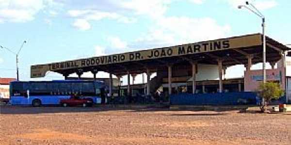 Eliseu Martins-PI-Terminal Rodoviário-Foto:Herlanio Evangelista