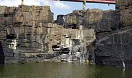 Esperantina - Esperantina-PI-Ponte sobre a Cachoeira do Urubu-Foto:Ferreira