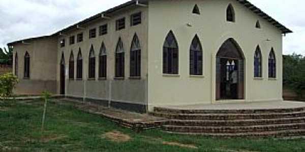 Floriano-PI-Igreja de São Raimundo Nonato-Bairro Irapuã-Foto:walterfmota