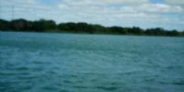 Vista parcial do Rio S�o Francisco, Por Antonio C�cero da Silva(�guia)