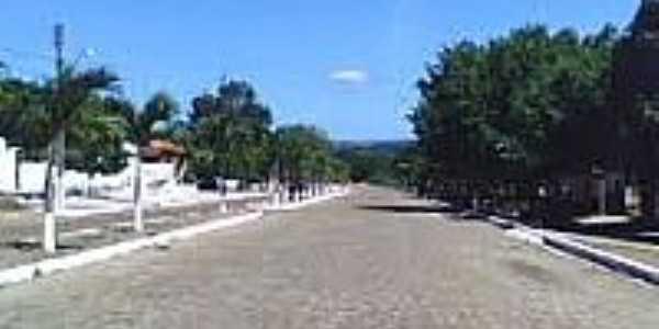 Avenida de entrada da cidade de Francinópolis-Foto:blig.ig.