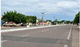 Fronteiras - Fronteiras-PI-Avenida de entrada-Foto:Herlanio Evangelista