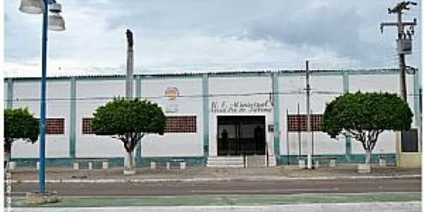 Fronteiras-PI-Escola Municipal-Foto:Herlanio Evangelista