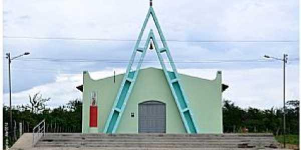 Fronteiras-PI-Igreja em Fronteiras-Foto:Herlanio Evangelista