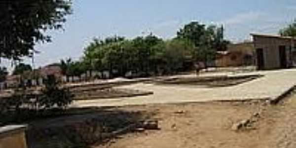 Praça central-Foto:hugonapoleao-pi