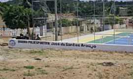 Curral Falso - Curral Falso-BA-Quadra Poliesportiva José dos Santos Araújo-Foto: Josivan Ribeiro