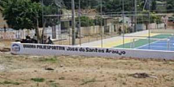 Curral Falso-BA-Quadra Poliesportiva José dos Santos Araújo-Foto: Josivan Ribeiro