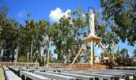 Ilha Grande - Altar do Santuário de N.Sra.do Piauí-Foto:Julio Cesar C. Costa