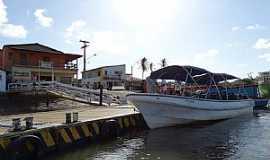Ilha Grande - Ilha Grande-PI-Porto do Distrito de Tatus-Foto:PEDRINE GUIMARÃES