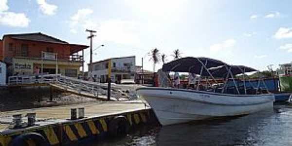 Ilha Grande-PI-Porto do Distrito de Tatus-Foto:PEDRINE GUIMARÃES