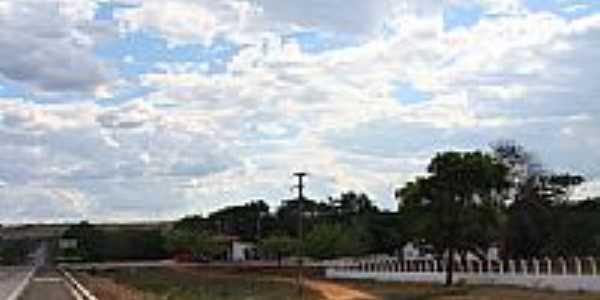Rodovia em Ipiranga do Piauí-Foto:PAPAGAIO