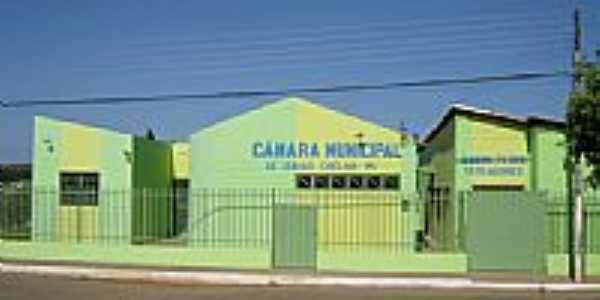 Câmara de Vereadores de Isaias Coelho-Foto:Erlon Chaves