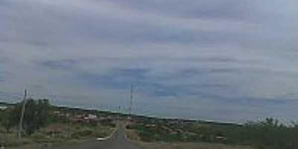 Chegando em Jacobina do Piauí-Foto:conhecendopiaui.