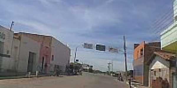 Entrada da cidade de Jacobina do Piauí-Foto:conhecendopiaui.
