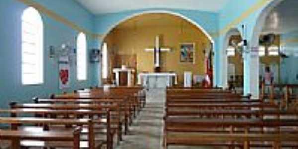Interior da Igreja Matriz de Dario Meira-BA-Foto:Als Magnvs