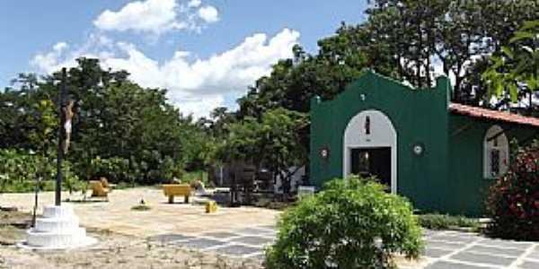 José de Freitas-PI-Gruta de N.Sra.do Carmo no Povoado Vassoura-Foto:Flávio Morais