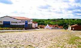 Lagoa do Barro do Piauí - Praça N.S.Rainha dos Anjos-Foto:marquinorocha