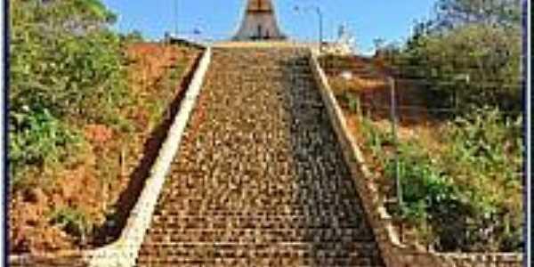 Escadaria da Fé-Foto:Agamenon Pedrosa
