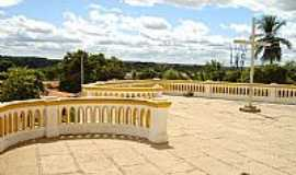 Luzilândia - Luzilândia-PI-Terraço da Matriz de  Santa Luzia-Foto:Hildengard Meneses C…