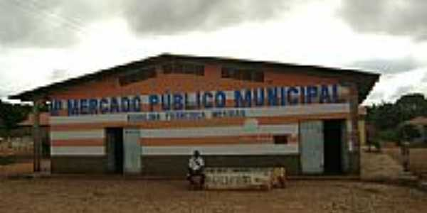 Mercado Publico de Manoel Emídio PI por Cabral Lopes