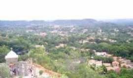 Monsenhor Gil - Vista do Morro do Cruzeiro Mons.Gil-PI, Por Helves