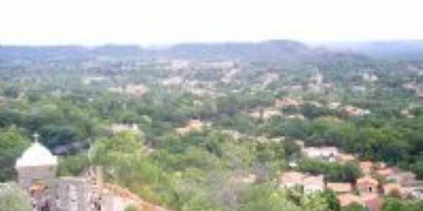 Vista do Morro do Cruzeiro Mons.Gil-PI, Por Helves