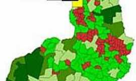 Morro Cabeça no Tempo - Mapa de Localização - Morro Cabeça no Tempo-PI