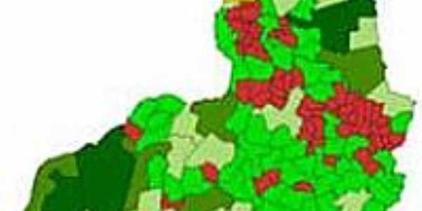 Mapa de Localização - Morro Cabeça no Tempo-PI