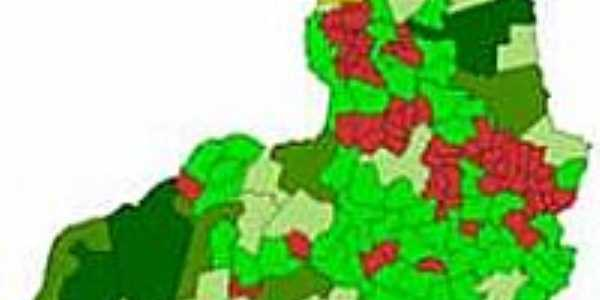 Mapa de Localiza��o - Morro Cabe�a no Tempo-PI
