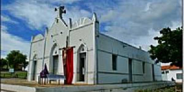 Igreja em Nazar�-Foto:Agamenon Pedrosa
