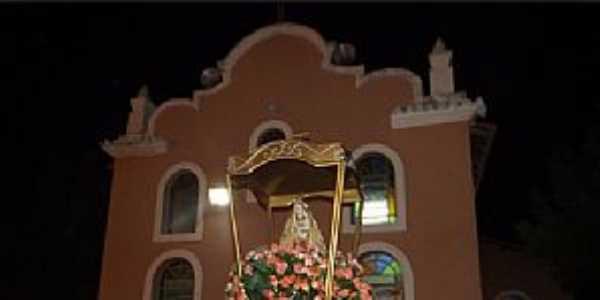 Nossa Senhora de Nazaré-PI-Igreja de Nossa Senhora de Nazaré-Foto:www.meionorte.com