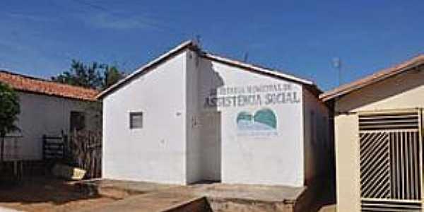 Nova Santa Rita-PI-Prédio da Assistência Social-Foto:Jr Lopes