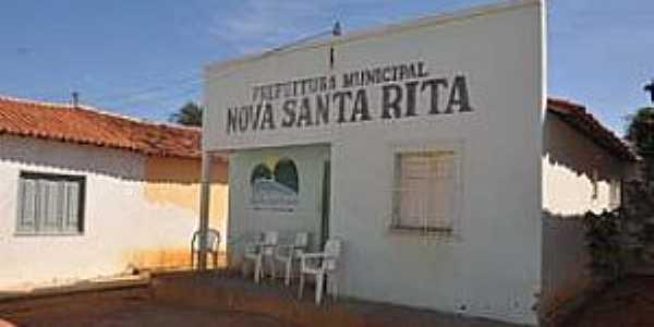 Nova Santa Rita-PI-Prédio da Prefeitura Municipal-Foto:Jr Lopes