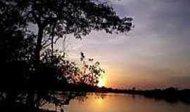 Novo Nilo - Pôr do Sol em Novo Nilo-Foto:conhecendopiaui.