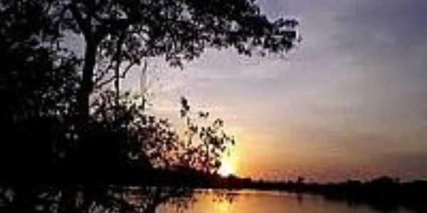 Pôr do Sol em Novo Nilo-Foto:conhecendopiaui.