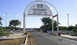 Novo Oriente do Piauí - Pórtico de entrada-Foto:IGOR ESCÓRCIO