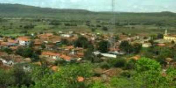 Vista da cidade de Novo Oriente do Piauí-Foto:Márcia