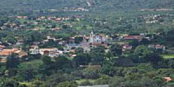 Vista parcial da cidade de Oieiras-PI-Foto:Edilson Morais Brito�