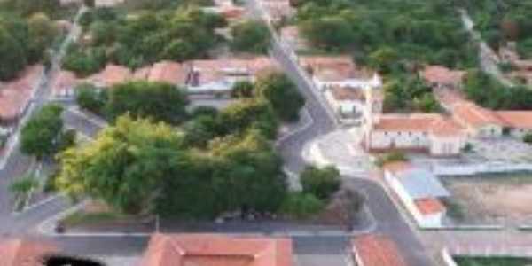 vista aerea do centro de palmeirais, Por robert