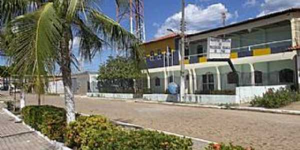 Passagem Franca do Piauí-PI-Avenida de entrada da cidade-Foto:passagemfranca.pi.gov.br