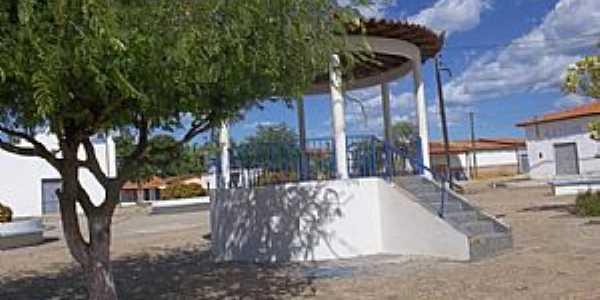 Passagem Franca do Piauí-PI-Coreto na Praça central-Foto:passagemfranca.pi.gov.br