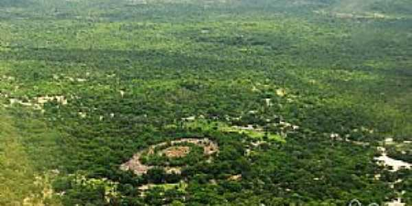 Passagem Franca do Piauí-PI-Vista aérea-Foto:Juscelreis