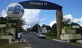 Pedro II - Pórtico de entrada-Foto:Jesaias Nogueira