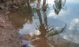 Pedro II - Reflexo nas águas do açude da joana, Por Antonio luis Bezerra da Cruz