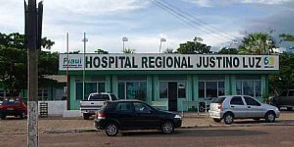 Picos-PI-Hospital Regional Justino Luz-Foto:WLuiz