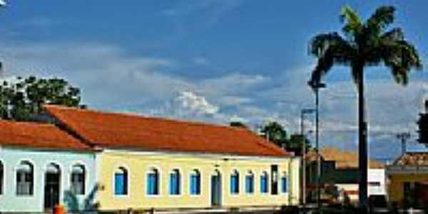 Espaço Cultural e Palmeira Imperial-Foto:Agamenon Pedrosa
