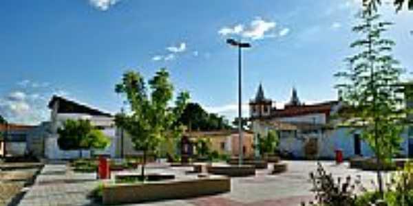 Pracinha da Igreja de Santo Antonio-Foto:Agamenon Pedrosa