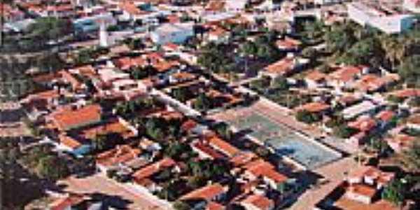 Vista aérea de Dom Basílio-BA-Foto:Paulo Antonio