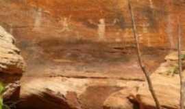 Redenção do Gurguéia - gravuras rupestres, Por gedilson novaes de carvalho