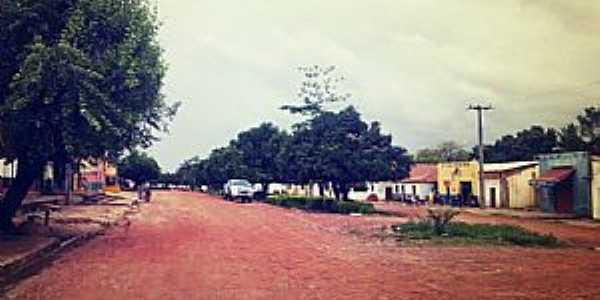Redenção do Gurguéia-PI-Avenida principal-Foto:Facebook